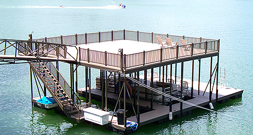 Sundeck Boat Docks Flotation Systems Aluminum Boat Docks