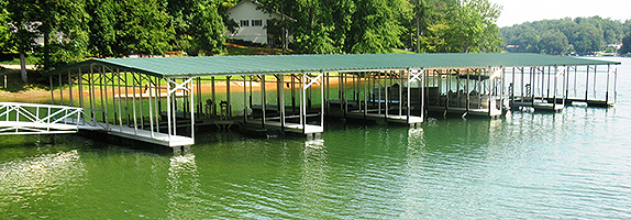 Flotation Systems Commercial and Marina Boat Docks