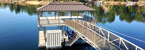 Flotation Systems Sundeck Boat Docks