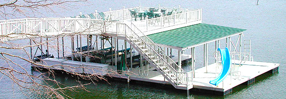 Flotation Systems Sundeck Combo Docks