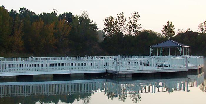 Flotation Systems, Inc. ADA Compliant Fishing Pier