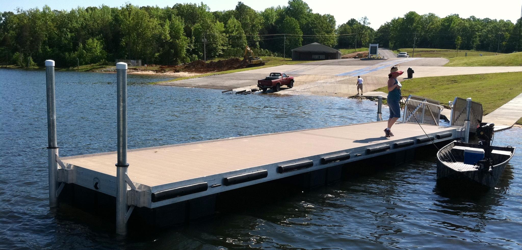 Flotation Systems, Inc. Public Access Dock