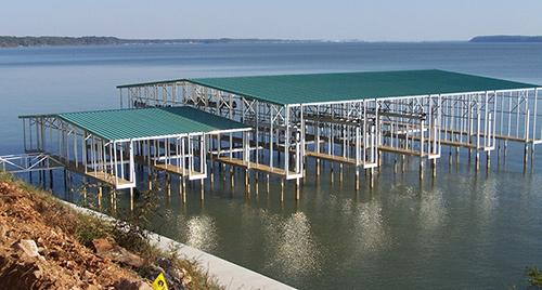 Flotation Systems Marina Dock Commercial Boat Dock 1