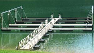 Flotation Systems Marina Dock Commercial Boat Dock 6