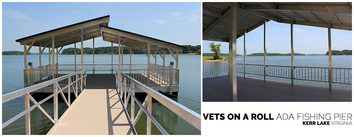 Vets on a Roll ADA Fishing Pier