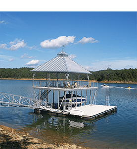 Flotation Systems Dock Shade 1