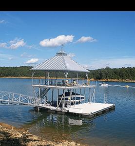 Flotation Systems Dock Shade 1