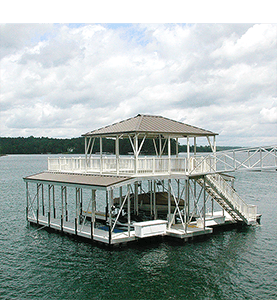 Flotation Systems Dock Shade 2