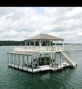 Flotation Systems Dock Shade 2