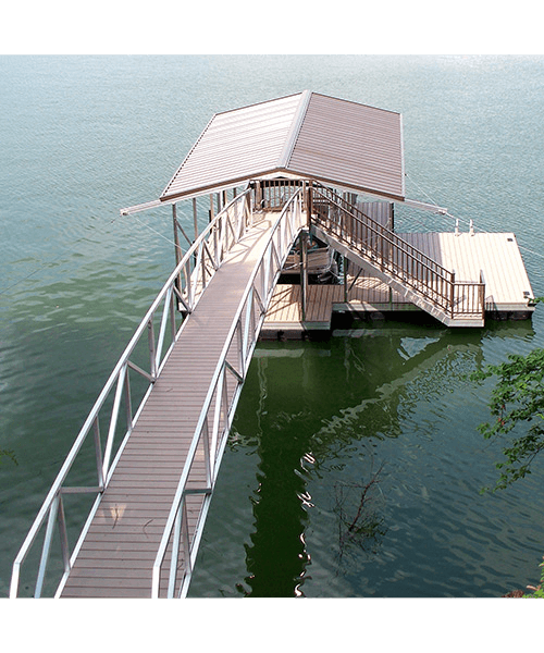 Flotation Systems Dock Stairs 2