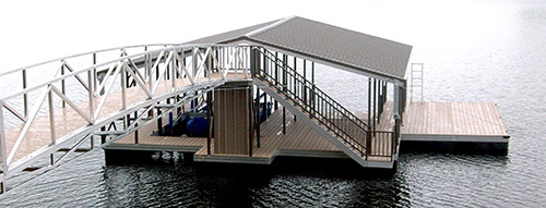 Flotation Systems Dock Stairs