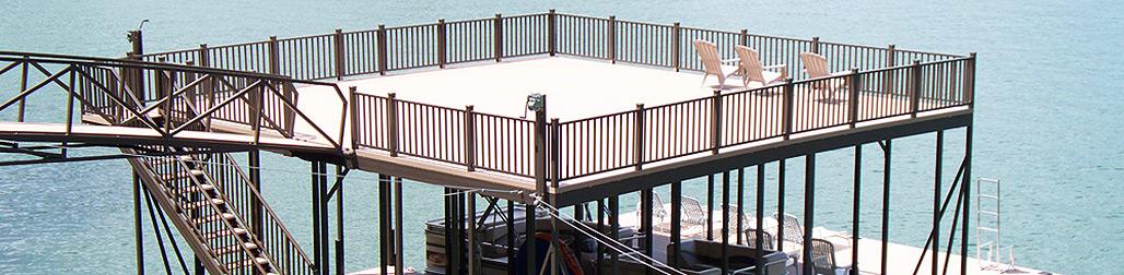 Flotation Systems Railings