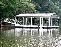 Floating Boat Dock Systems | Flotation Systems Aluminum Boat