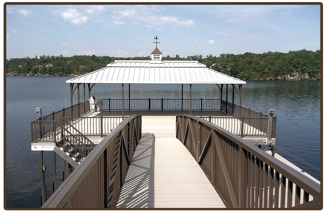 Silver Ridge boat dock color series main