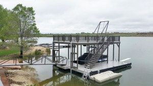 Flotation Systems, Inc. - Sundeck Boat Dock