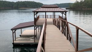 Flotation Systems, Inc. Sundeck Boat Dock