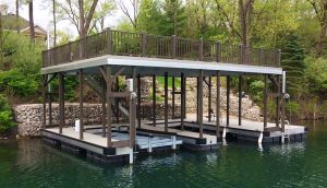 Flotation Systems Sundeck Boat Dock