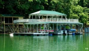 Flotation Systems sundeck combo boat dock C10