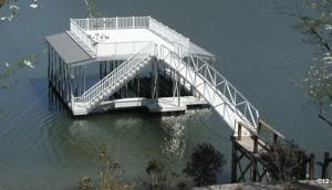 Flotation Systems sundeck combo boat dock C12