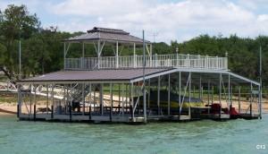 Flotation Systems sundeck combo boat dock C13