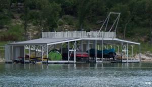 Flotation Systems sundeck combo boat dock C16