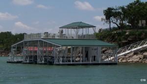 Flotation Systems sundeck combo boat dock C18