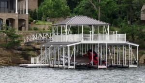 Flotation Systems sundeck combo boat dock C2