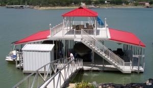 Flotation Systems sundeck combo boat dock C20