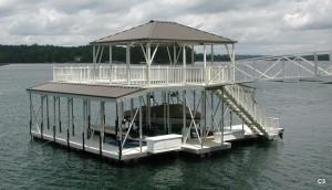 Flotation Systems sundeck combo boat dock C3