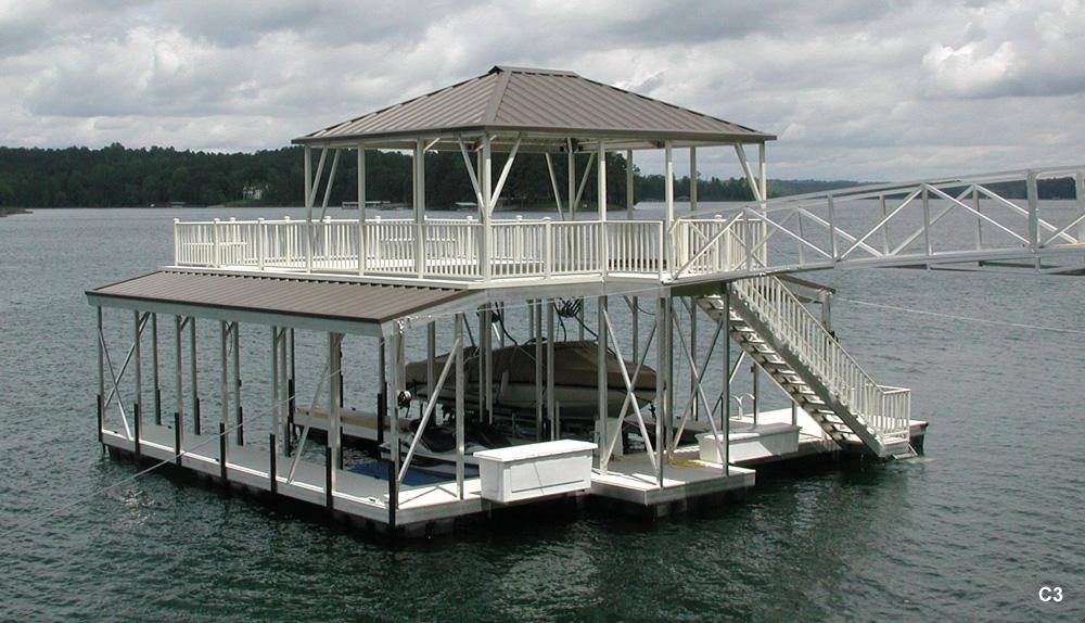 Boat Shelter Aluminum Roof : Boat shelter plans