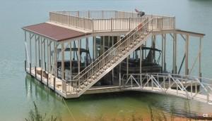Flotation Systems sundeck combo boat dock C5