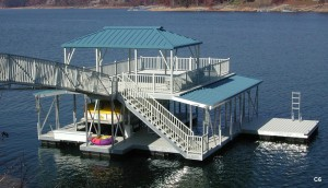 Flotation Systems sundeck combo boat dock C6