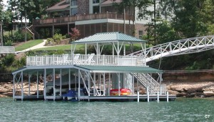Flotation Systems sundeck combo boat dock C7