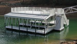 Flotation Systems sundeck combo boat dock C9