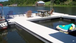 Flotation Systems dock pier floating pier p1