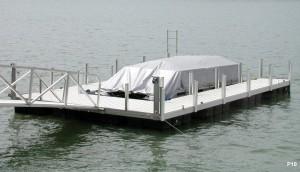 Flotation Systems dock pier floating pier p10