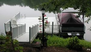 Flotation Systems dock pier floating pier p12