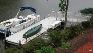 Flotation Systems dock pier floating pier p13