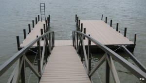 Flotation Systems dock pier floating pier p14
