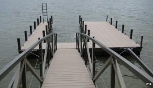 Flotation Systems dock pier floating pier p14