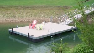 Flotation Systems dock pier floating pier p15