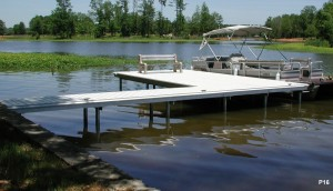 Flotation Systems dock pier floating pier p16