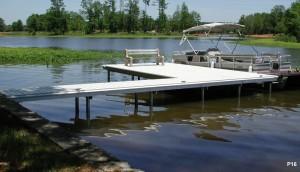 Flotation Systems dock pier floating pier p16