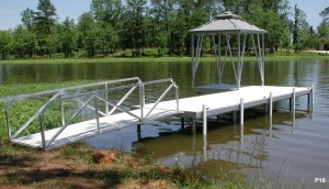Flotation Systems dock pier floating pier p18