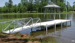 Flotation Systems dock pier floating pier p18