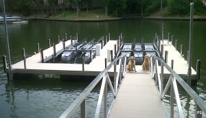 Flotation Systems dock pier floating pier p2