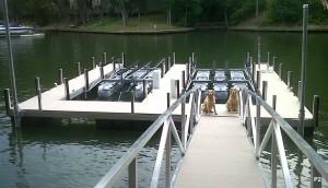 Flotation Systems dock pier floating pier p2