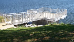 Flotation Systems dock pier floating pier p20
