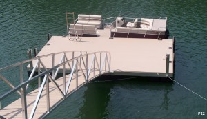 Flotation Systems dock pier floating pier p22