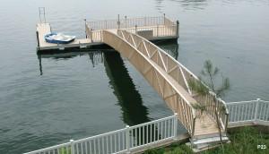 Flotation Systems dock pier floating pier p23